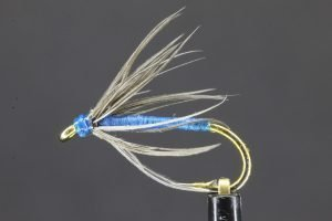 Blue Soft Hackle scaled
