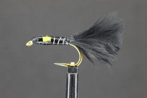 Autumn Epoxy Yellow Cheek Marabou Buzzer (Short Tail)