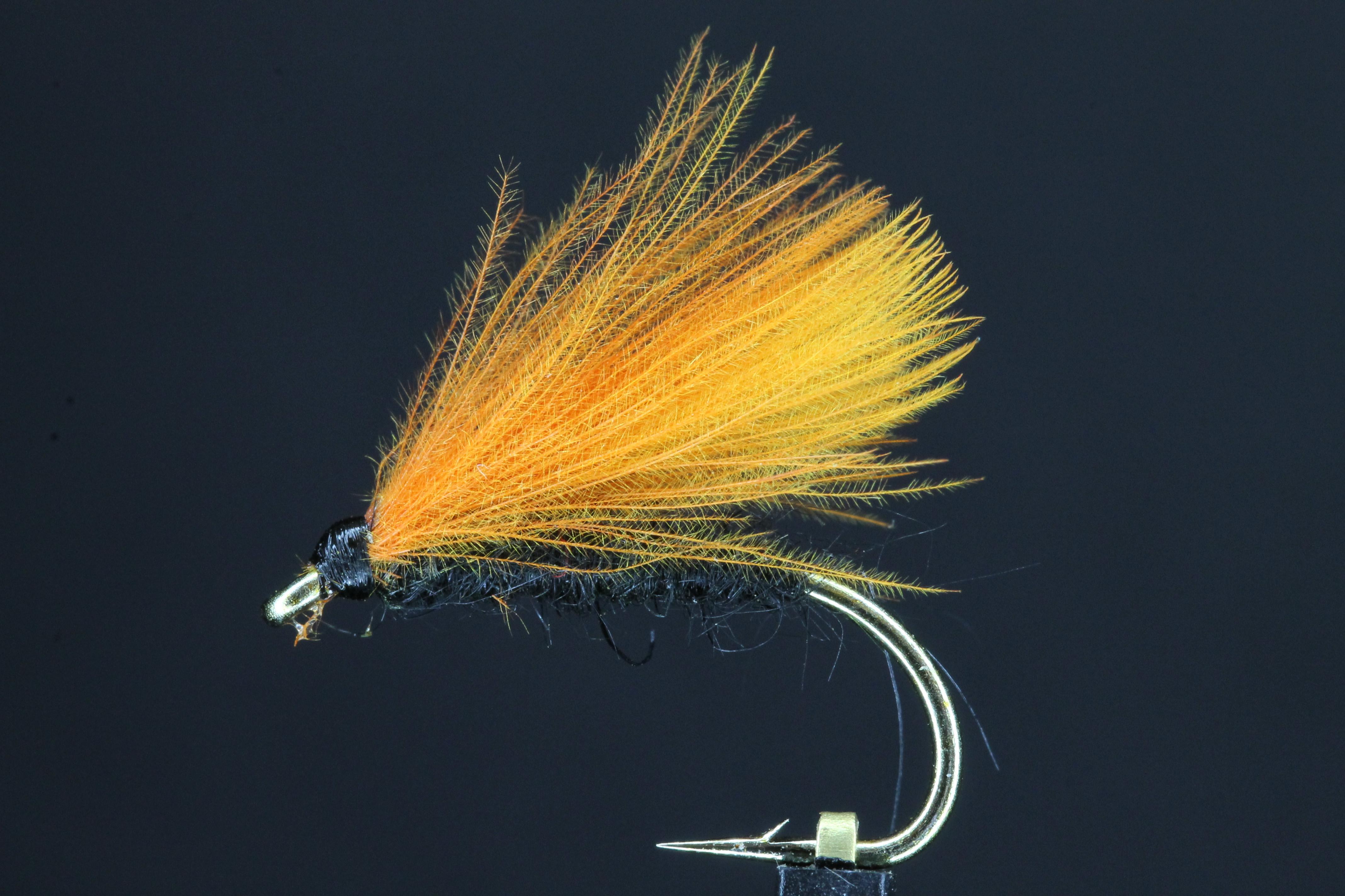 Orange Wing CDC F Fly