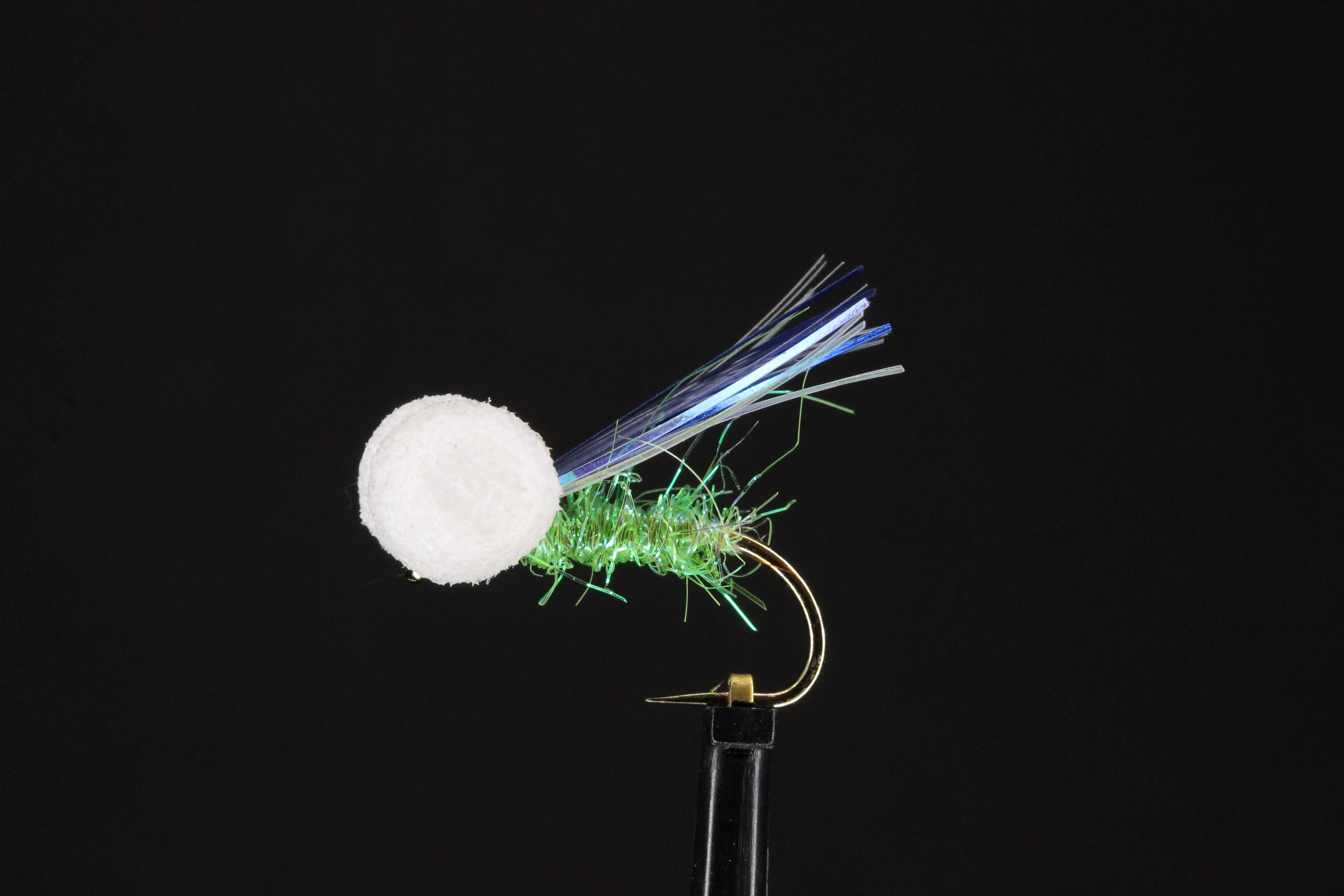 Dynamite Booby - White & Lime