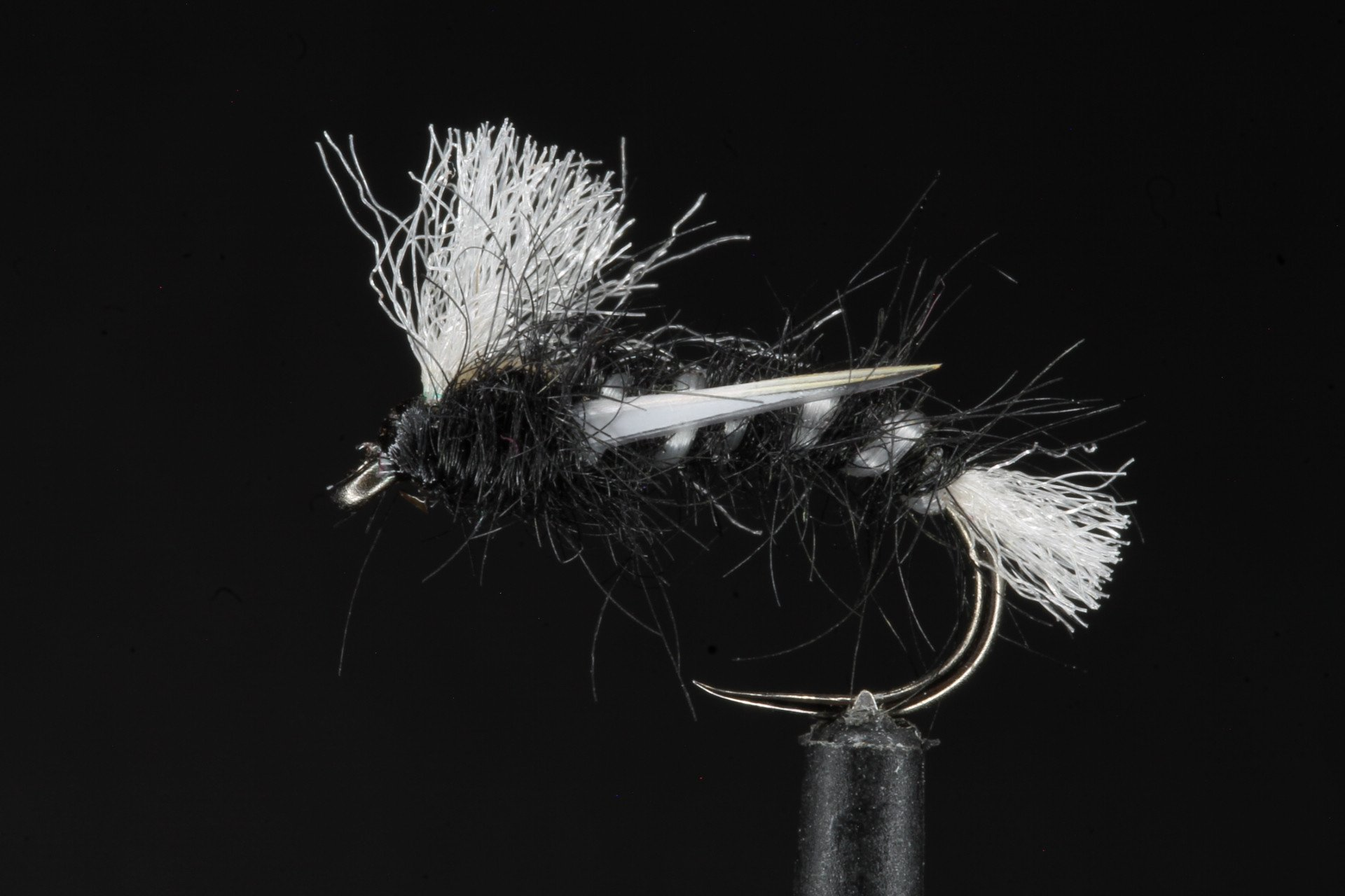 Black Poly Ribbed Buzzer