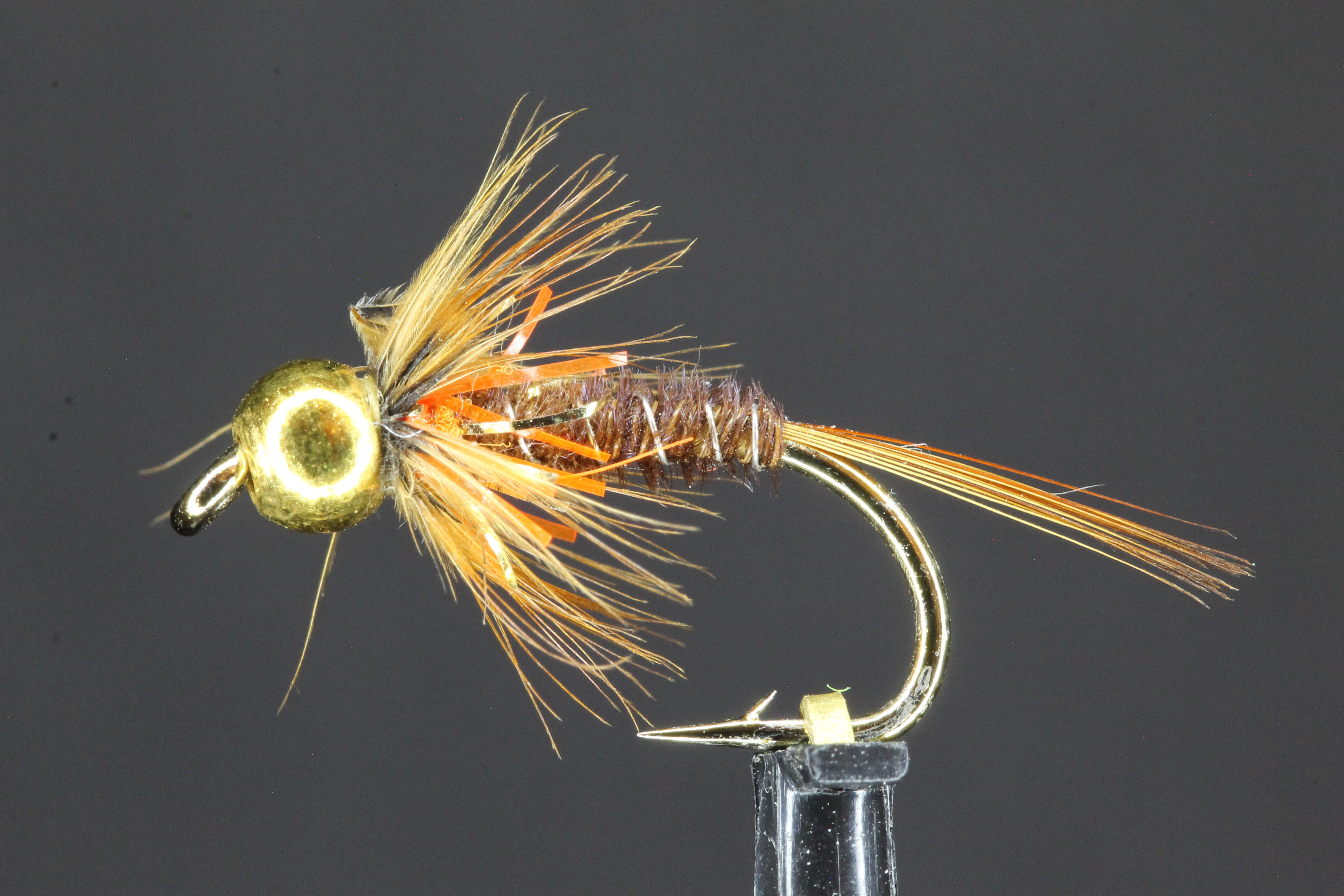 Gold Head Orange Cruncher