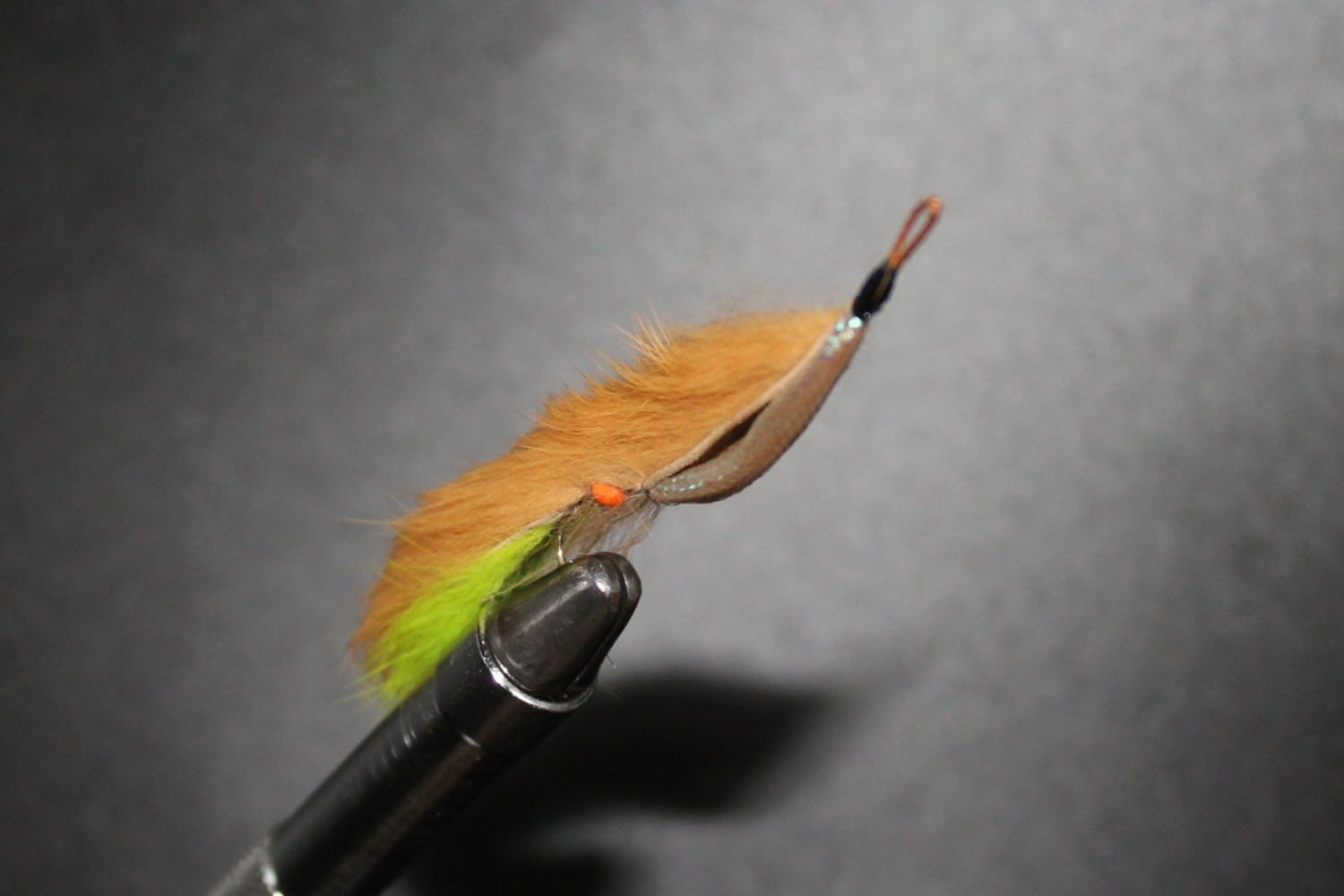 Tan and Lime Weed Fly (Snake)