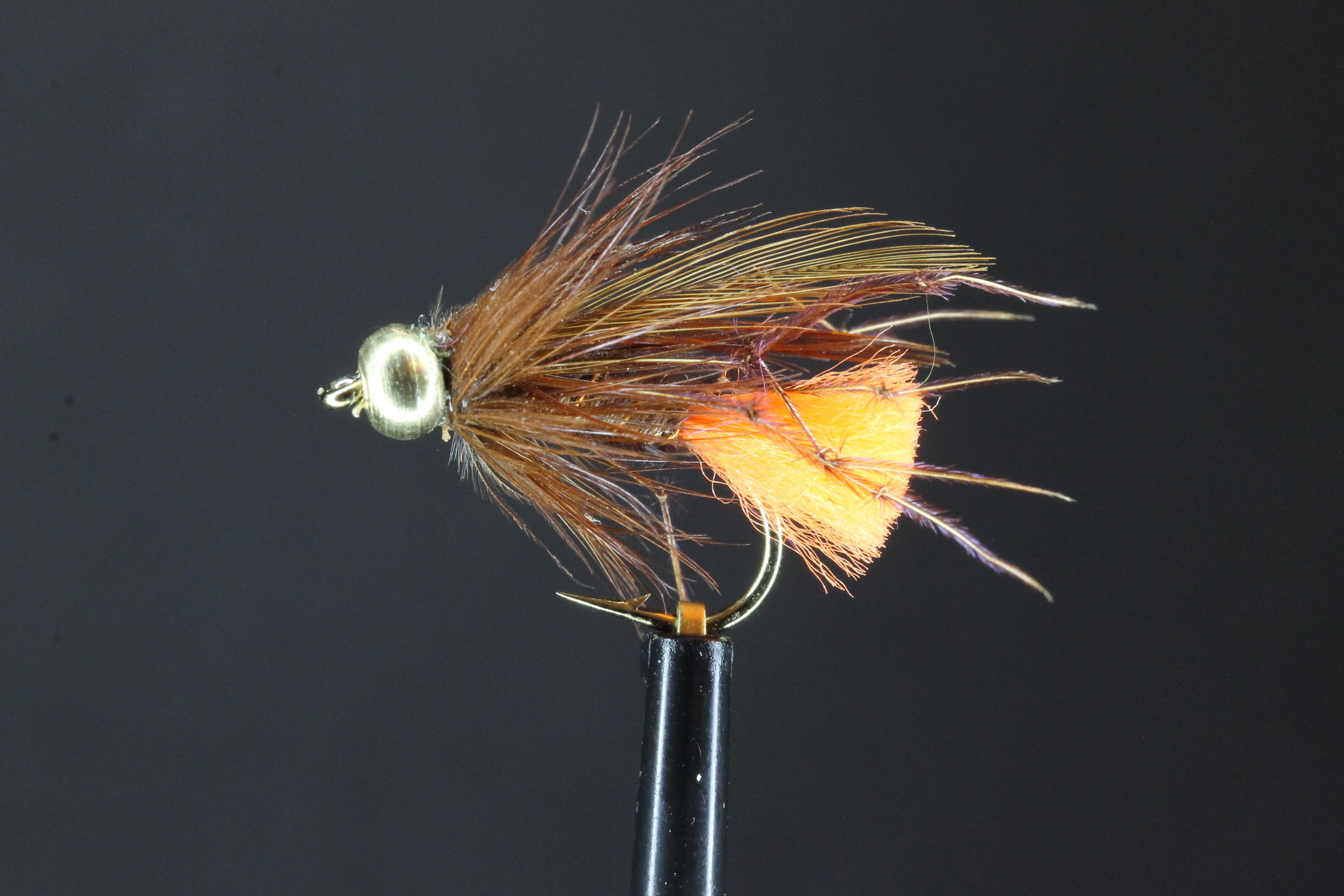 Gold Bead Orange Tail Hopper