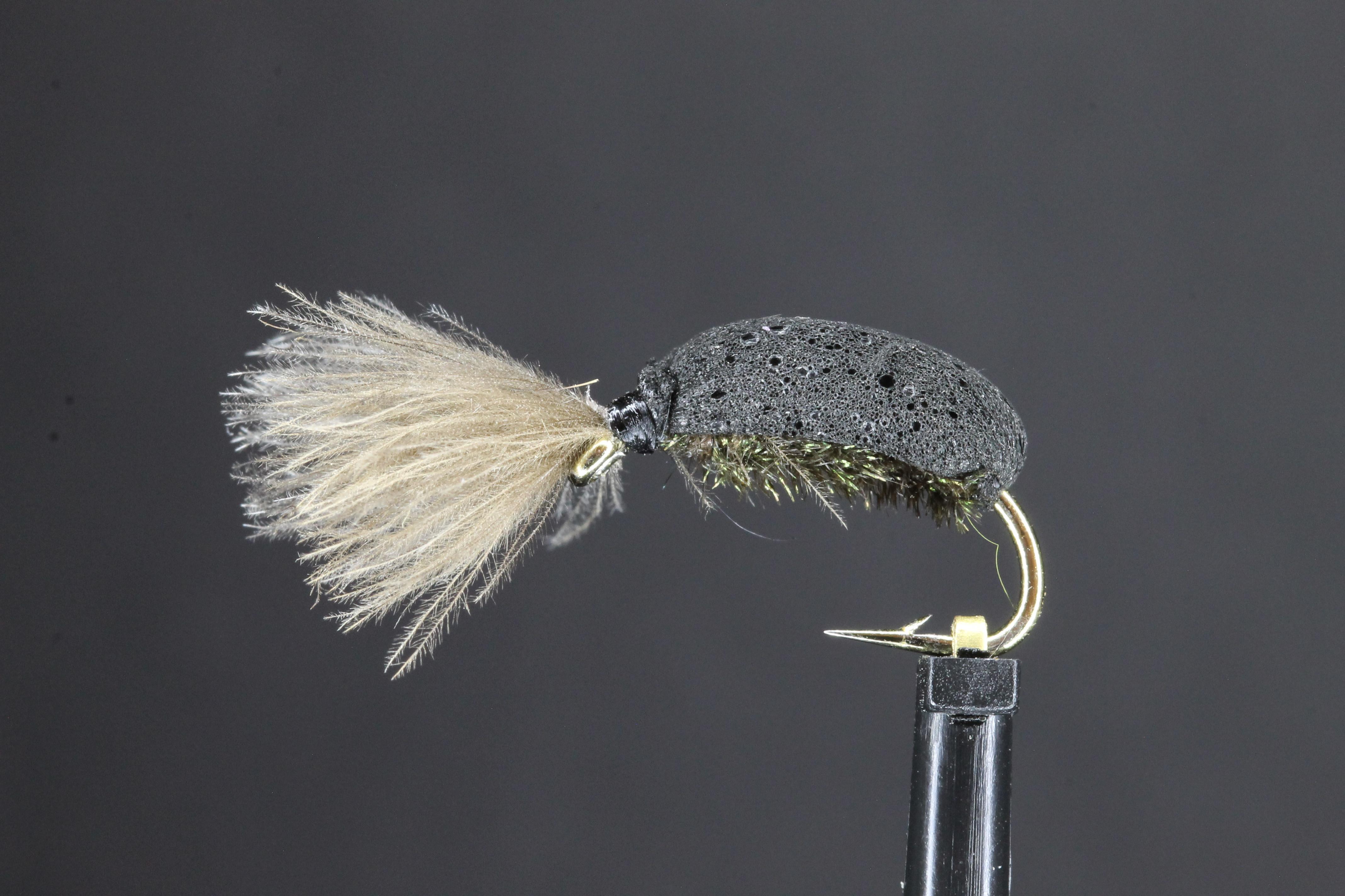 Moss CDC Beetle
