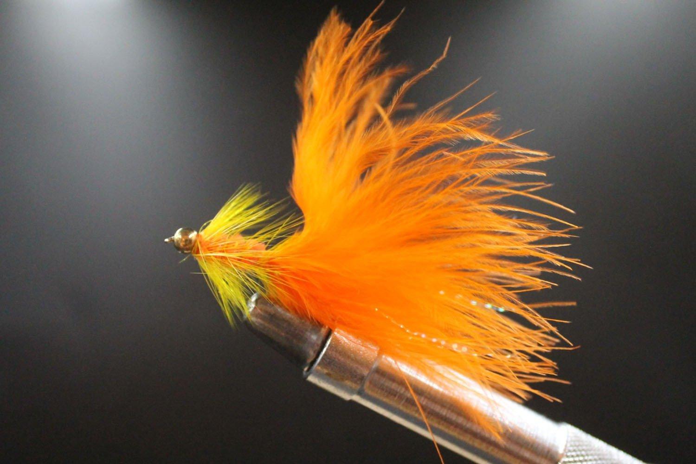 Goldhead Orange Woolly Bugger