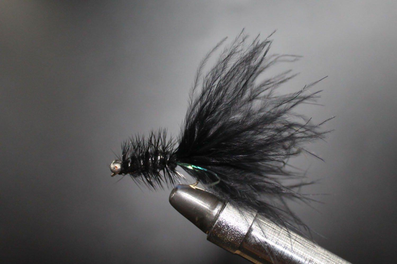 Goldhead Black Woolly Bugger