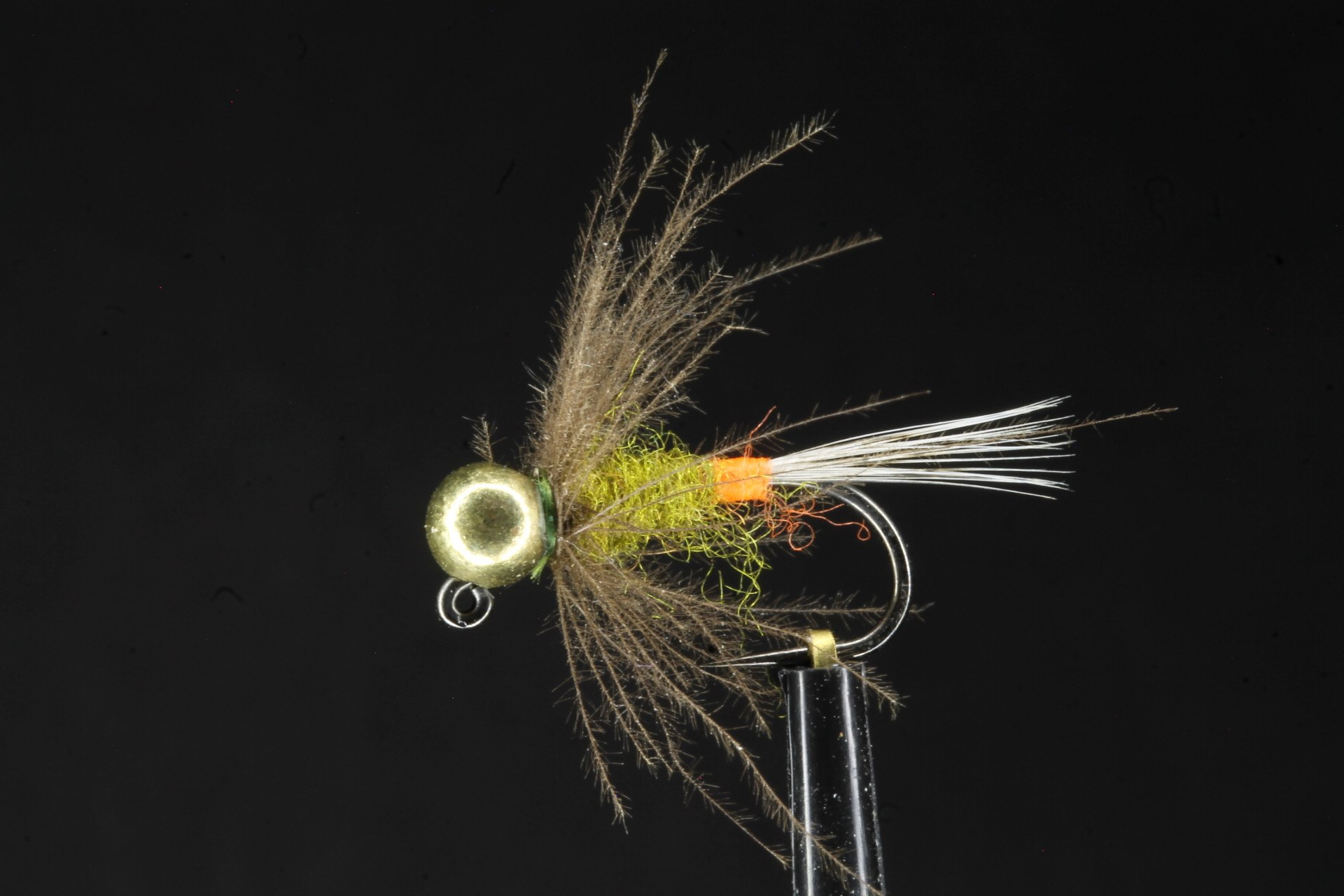 Olive Red Tag  Jig